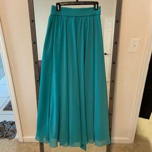 Dresses & Skirts - 🆕 Listing 🎉 High waist chiffon maxi skirt